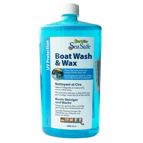 Starbrite SeaSafe Boat Wash and Wax 1ltr